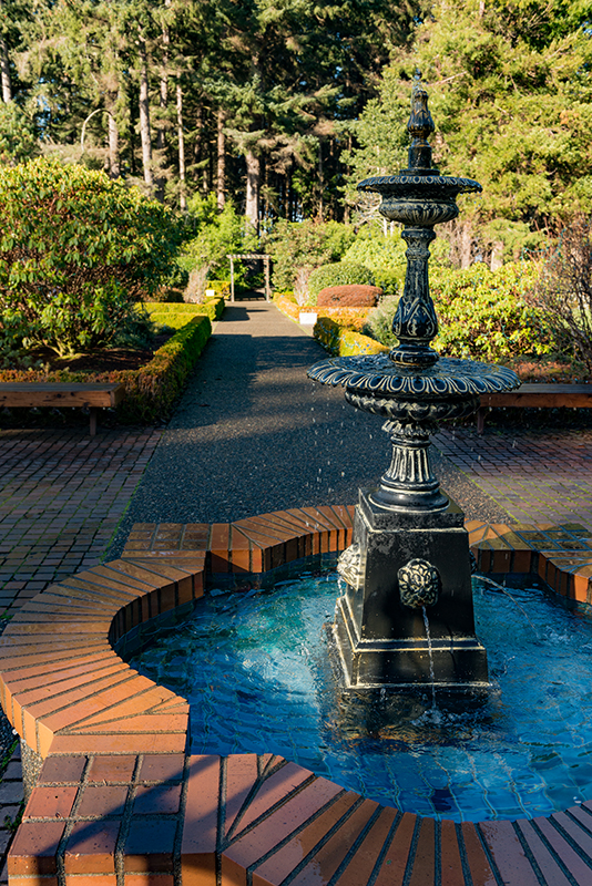 Shore Acres Garden Fountain
